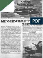 Messerschmitt Bf110 Destroyer