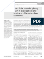 Role of the multidisciplinary team in the diagnosis and treatment of hepatocellular carcinoma