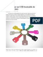 Para Crear Un USB Booteable de Cualquier ISO