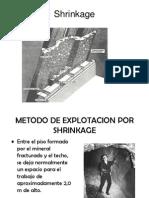 metodos de explotación subterraneos