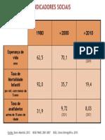 03 05 indicadores sociais 1980, 2000, 2010