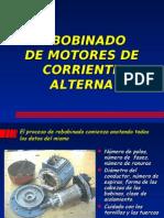 Rebobinado de Motores de Corriente Alterna