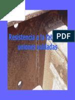 Resistencia a La Fatiga de Uniones Soldadas
