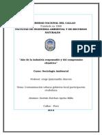 10ma Semana Contaminacion Urbana Gobierno Local Participacion Ciudadana