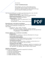 TEMA 1 Bioelementos y biomoléculas