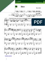Bolero de Ravel (Piano)