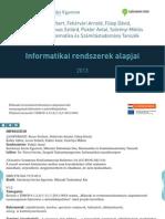 Információs rendszerek alapjai 1