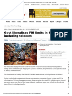 Govt liberalises FDI limits in 12 sectors, including telecom _ FDI in Retail, News - India Today.pdf