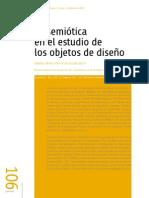 La Semiotica en El Estudio de Los Objetos de Diseño.2013
