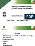 Responsabilidades en S.O. Dr. Francisco Tafur S. Bis