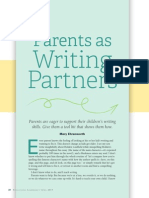 parents and writing article