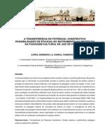 A TPC Possibilidades de Eficacia Do Instrumento Na Protecao Da Paisagem Cultural de Jf