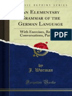 An Elementary Grammar of the German Language 1000052650