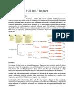 Pcr Rflp Report