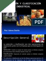 Selección  y clasificación  industrial