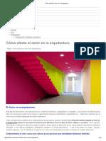 Cómo Afecta El Color en La Arquitectura OVACEN