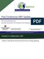 AASLD 2014 HBV Post Conference Update 11-21-14