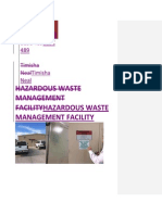 hazardous waste site report with comments