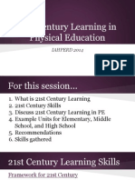 iahperd 21st century learning