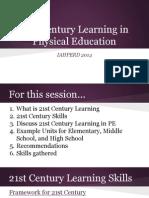 iahperd 21st century learning