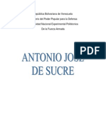 Antonio Jose Sucre Informe