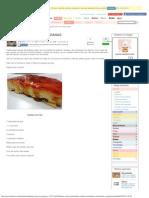 PUDING de PAN CON MANZANAS _ Cocinar en Casa Es Facilisimo.com