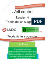 Well Control Seccion 4 -Teoria de Las Surgencias