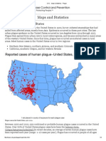 cdc - maps  statistics - plague