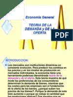 Demanda - elasticidades - Economía