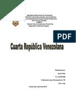 Cuarta Republica de Venezuela