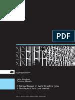 EL BRANDED CONTENT EN FORMA DE HISTORIA COMO LA FÓRMULA PUBLICITARIA PARA WEB