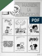 Articulo Mafalda Revista Siete Agosto 1975