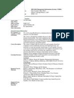 UT Dallas Syllabus for mis6204.x27.07s taught by Hans-joachim Adler (hxa026000)
