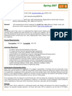 UT Dallas Syllabus for ee3320.001.07s taught by Dinesh Bhatia (dinesh)