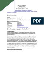 UT Dallas Syllabus for bps6310.0g1.07s taught by Tevfik Dalgic (tdalgic)
