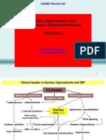 Ascites Hyponatremia Cirrhosis HRS Hepatorenal 2014 SOTA