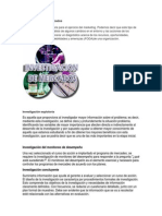 La Investigación de Mercados Unidad 1