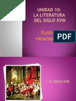 Unidad 10 Literatura Siglo Xviii