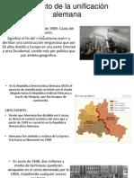 Impacto de La Unificación Alemana