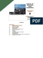 Manual de Geologia Para Ingenieros - G. Escobar