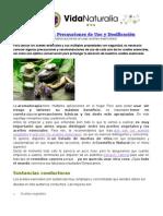 Aceites Esenciales - Precauciones de Uso y Dosificación