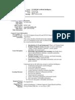 UT Dallas Syllabus for cs4365.501.07s taught by Yu Chung Ng (ycn041000)