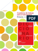 Cuaderno de Trabajo Para El Diccionario Primaria Básico_113621