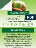 Presentasi ISO 14001