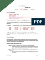 UT Dallas Syllabus for math2419.004.07s taught by Bentley Garrett (btg032000)
