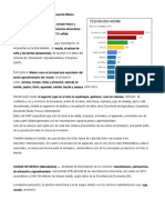 10 Productos Alimenticios Que Más Exporta México