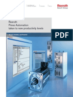 Rexroth PressRexroth Press Automation Intelligent Press Transfer Solutions Automation Intelligent Press Transfer Solutions