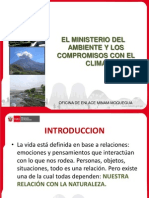 1 Ministerio Ambiente Compromisos Clima