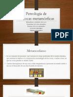 Petrología de Las Rocas Metamórficas