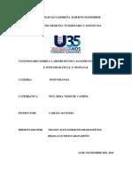 Cuestionario Inmunologia Calostro e Inmunologia Fetal y Neonatal